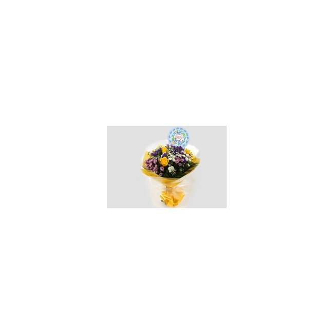additional image for Its a Boy Balloon & Charm Bouquet