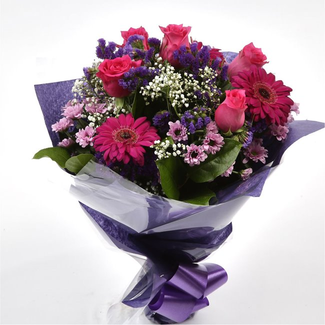 additional image for Beautiful Cerise Bouquet