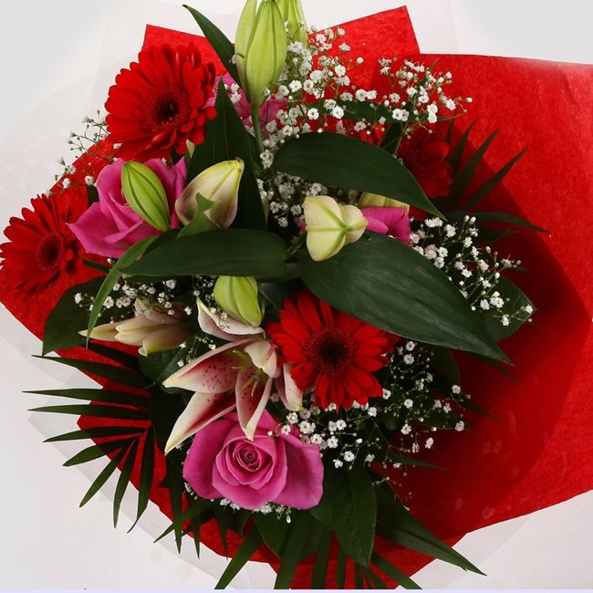 additional image for Pink Oriental Bouquet