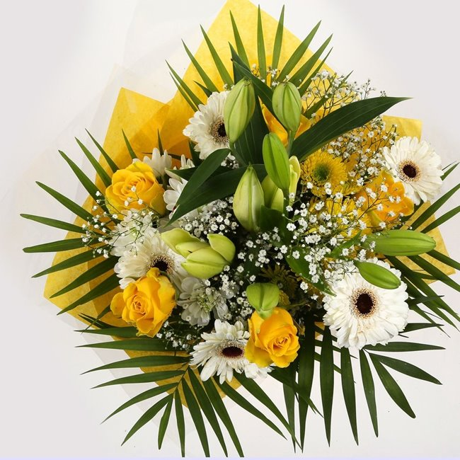 additional image for Lemon & White Bouquet