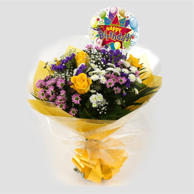 additional image for Birthday Balloon & Charm Bouquet