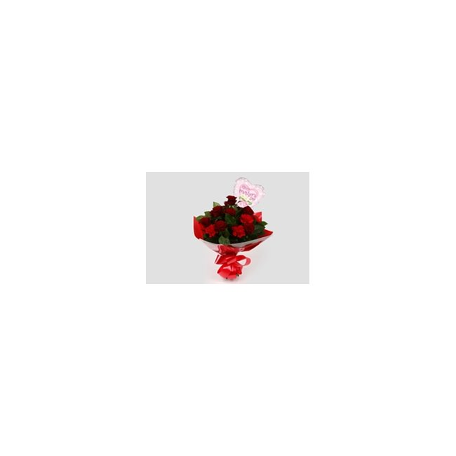 additional image for Mothers Day Balloon & Heart Special Bouquet