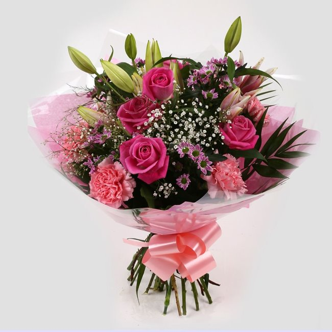 additional image for Pink Crystal Bouquet
