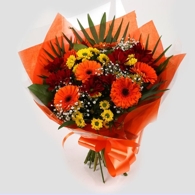 additional image for Red Fall Bouquet