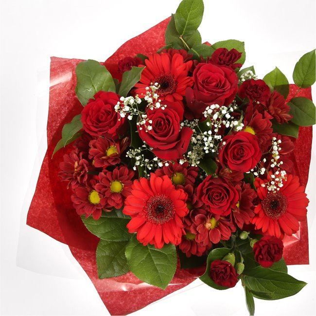 additional image for Lavish Red Bouquet