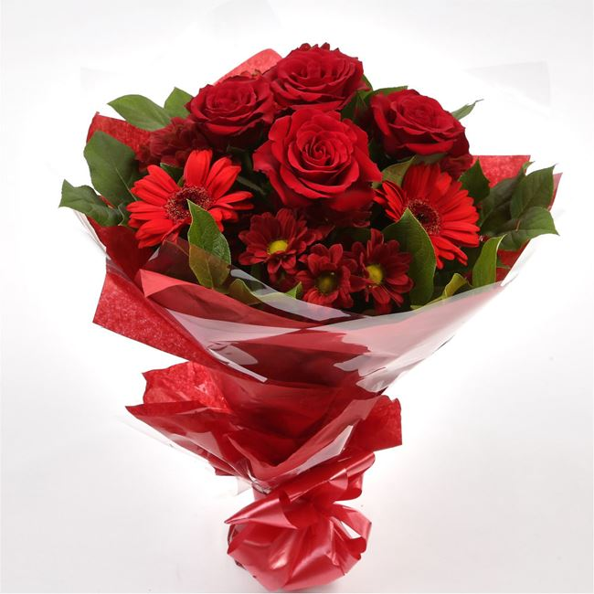 Luxury Red Bouquet