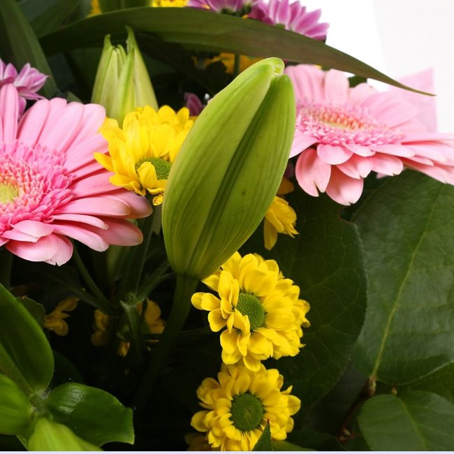 additional image for Mothers Day Balloon & Florist Meadow Bouquet