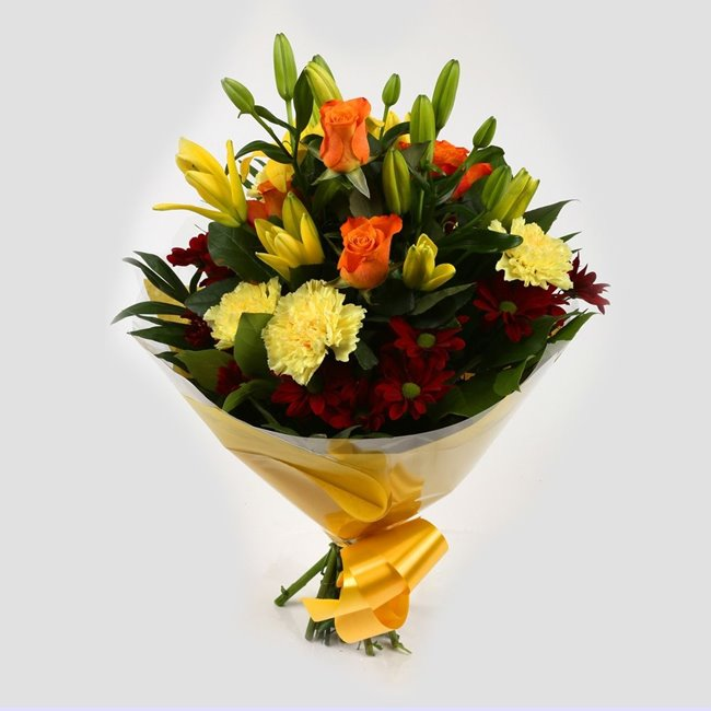 additional image for Mothers Day Balloon & Red Sunshine Bouquet
