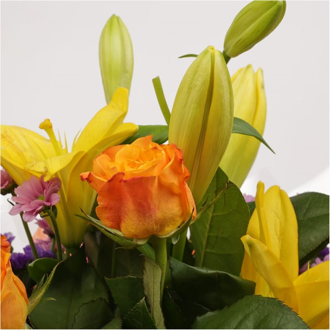 additional image for Sunshine Yellow Bouquet