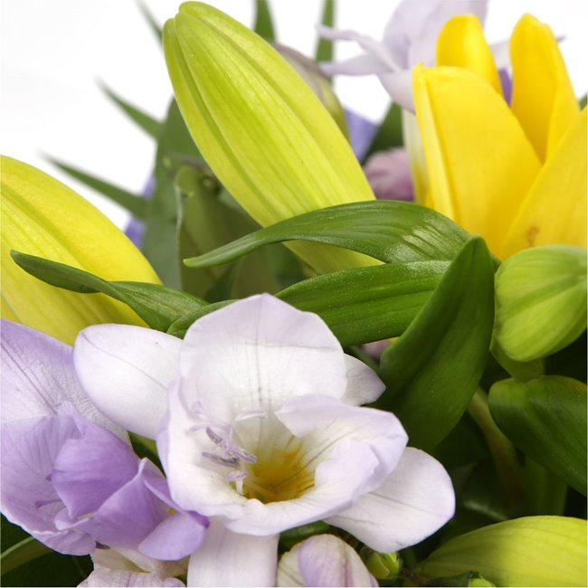 additional image for Scented Lilly & Freesias Bouquet