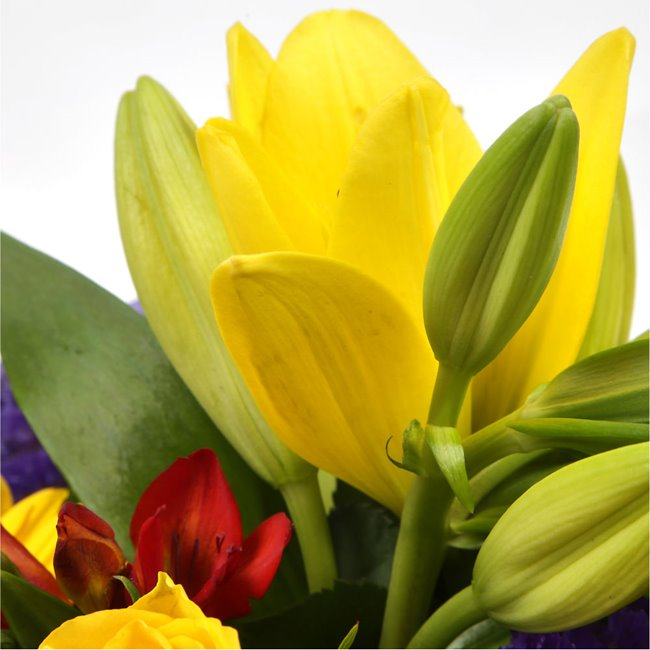 additional image for Yellow Blush Bouquet