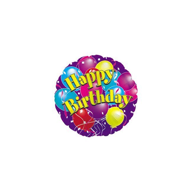 additional image for Happy Birthday Balloon
