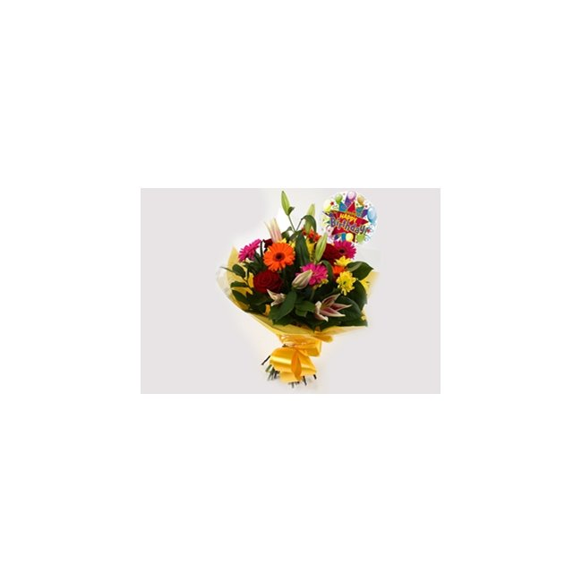 additional image for Birthday Balloon & Jubilation Bouquet
