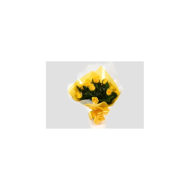 additional image for 12 Yellow Roses Bouquet-Clear Savings-Clear Prices