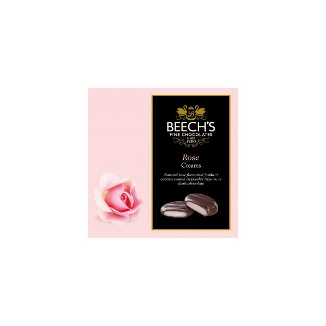Rose Creams Dark Rose Chocolates