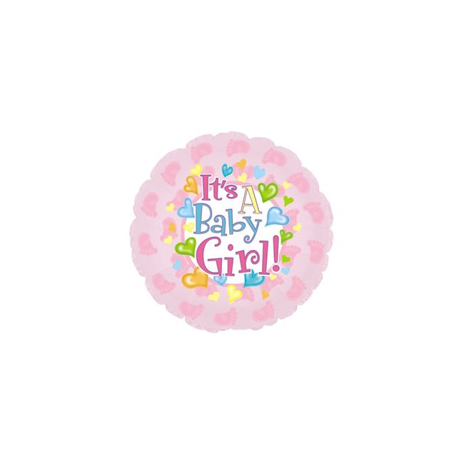 additional image for Its a Girl Balloon