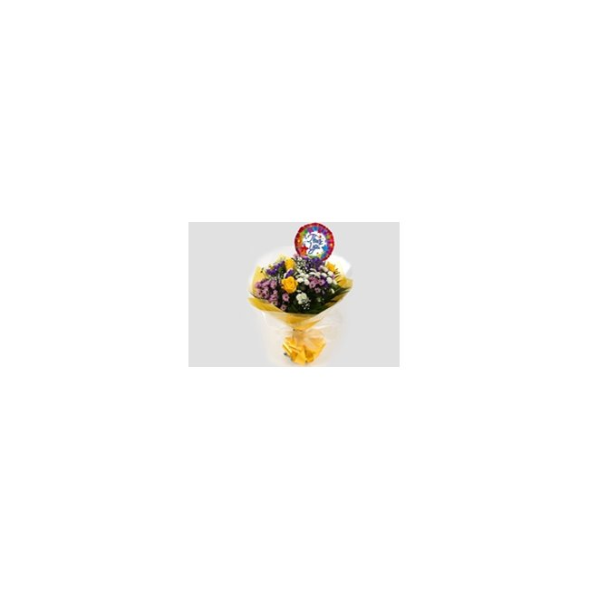 additional image for Thank You Balloon & Charm Bouquet