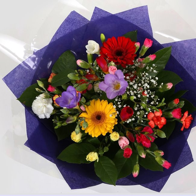 additional image for Fragrant Star Bouquet
