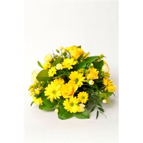 YELLOW GOLD POSY
