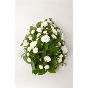 White Carnation Spray