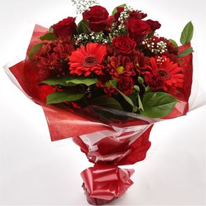 Lavish Red Bouquet