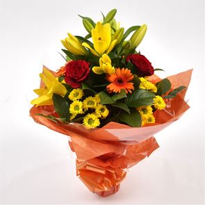 Orange Sunshine Bouquet